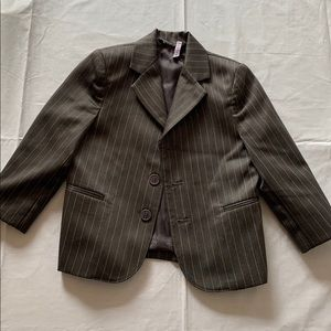 Other - Boys Pinstriped dress coat size 3T